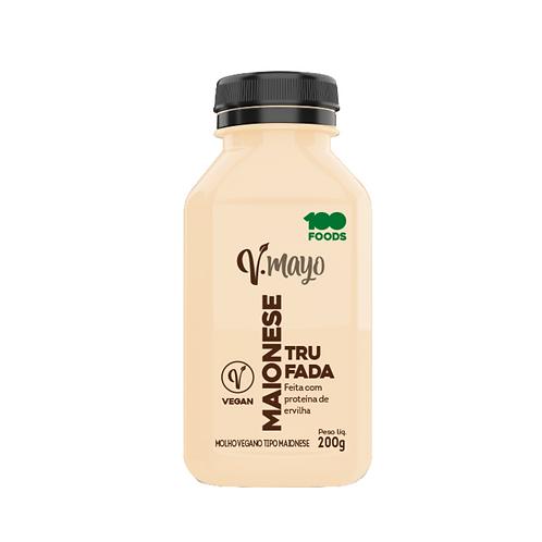Maionese Vegana V-Mayo Trufada
