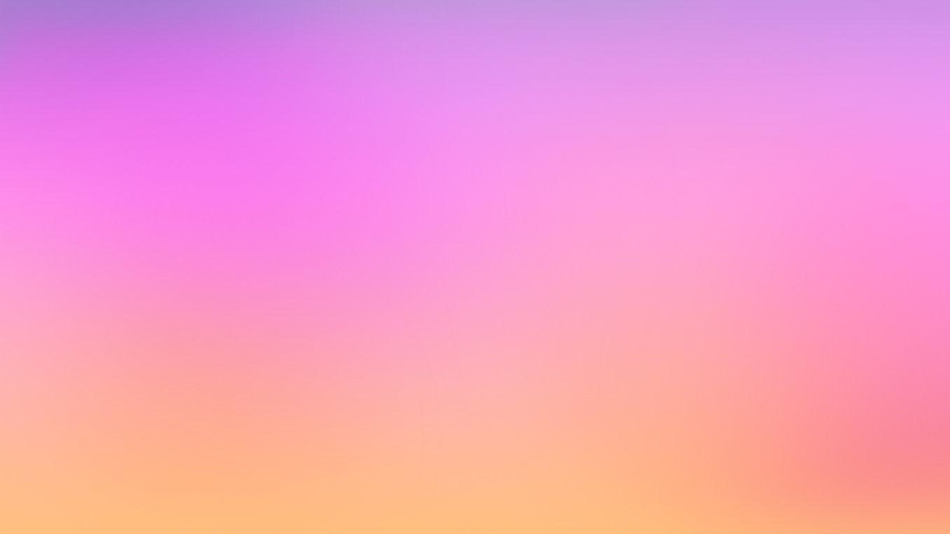 オレンジのグラデーションにピンク
