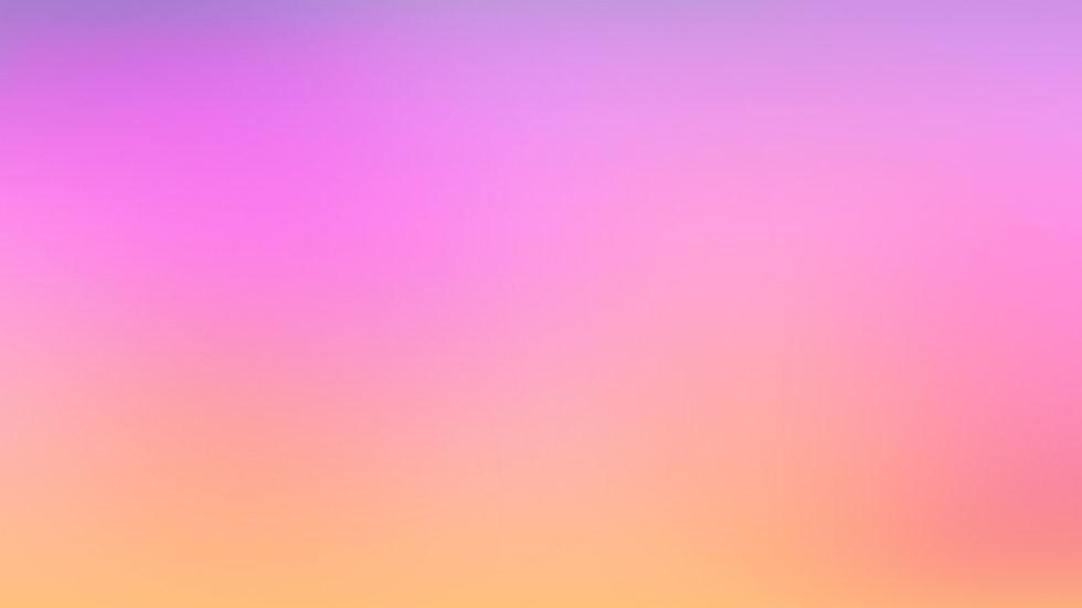 오렌지 그라데이션에 핑크