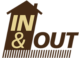 In & Out Cleaning Logo