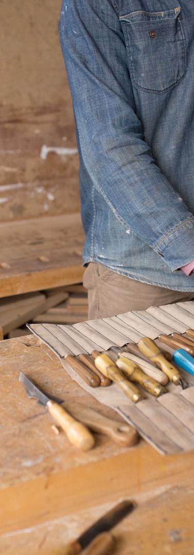 Carpenter organiseren zijn Gereedschap
