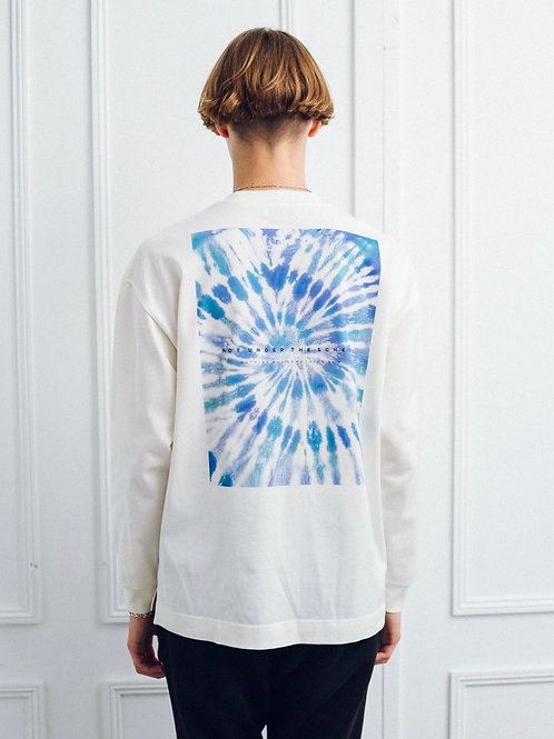 Graphical Crewneck Long T-Shirt