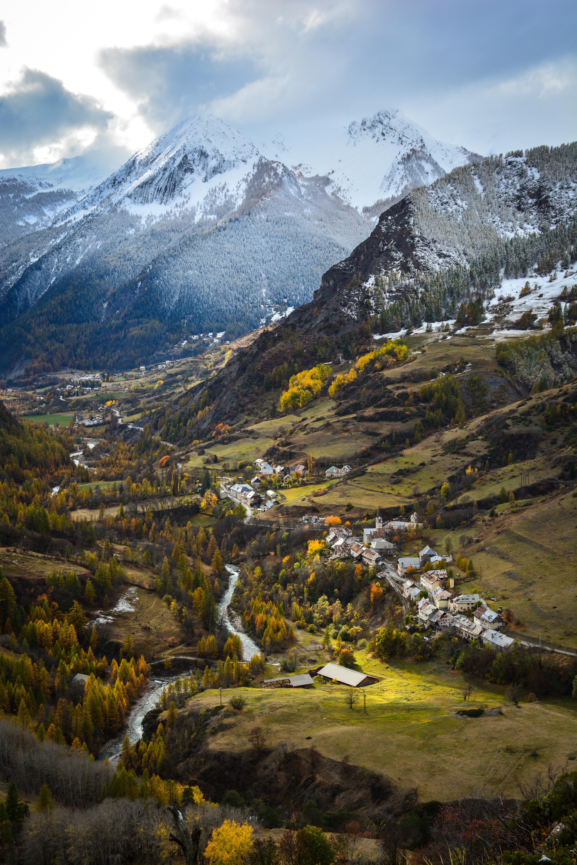 La haute-vallée de l'Ubaye