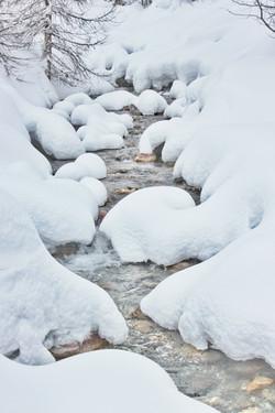 La Baragne en hiver