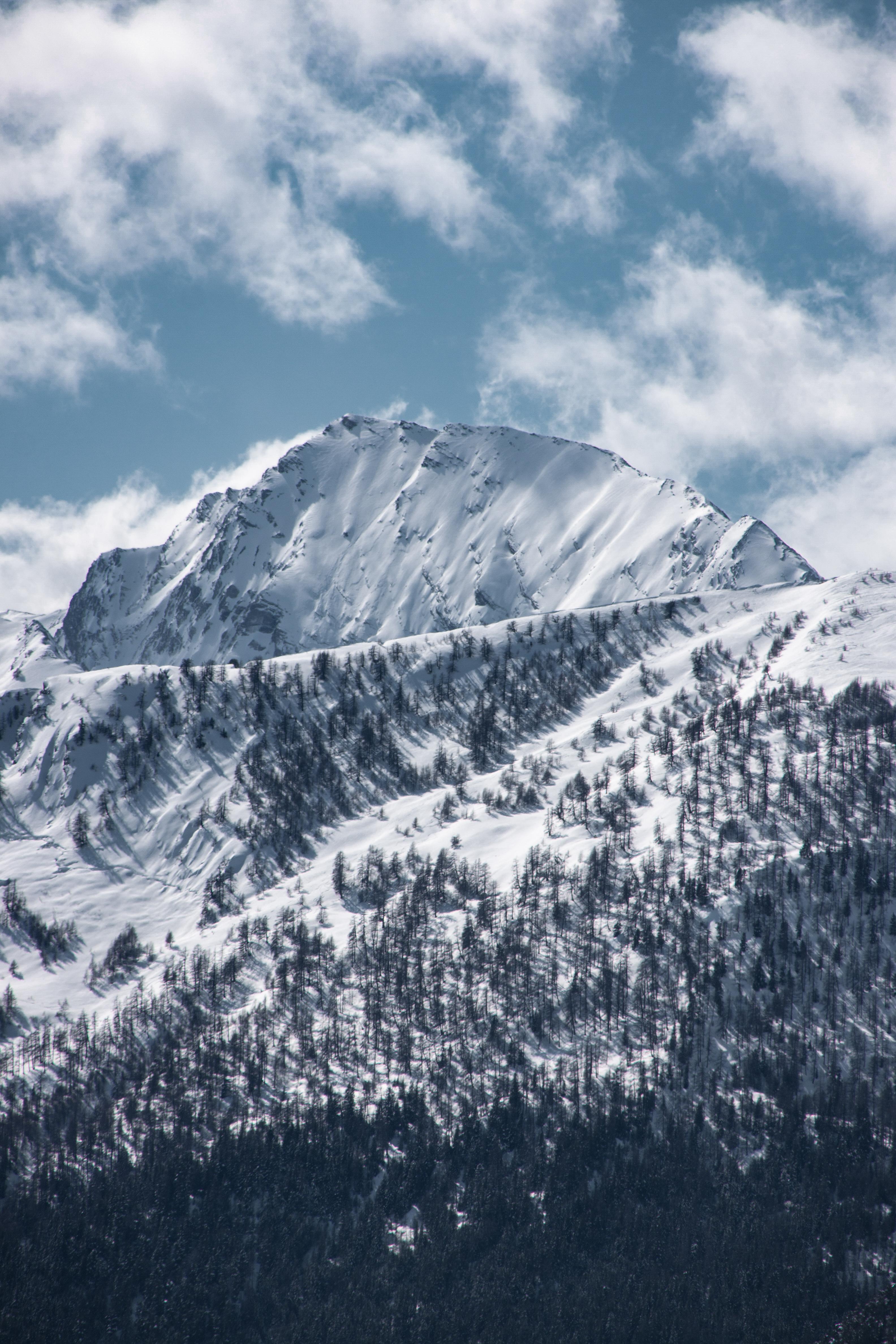 Vue hivernale depuis les Vistes