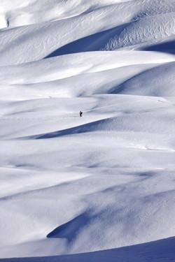Sur le chemin du Col de Mirandol