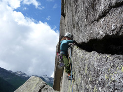 Escalade en montagne