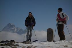 A skis sur les sommets