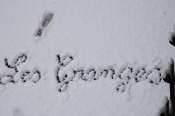 Les Granges sous la neige