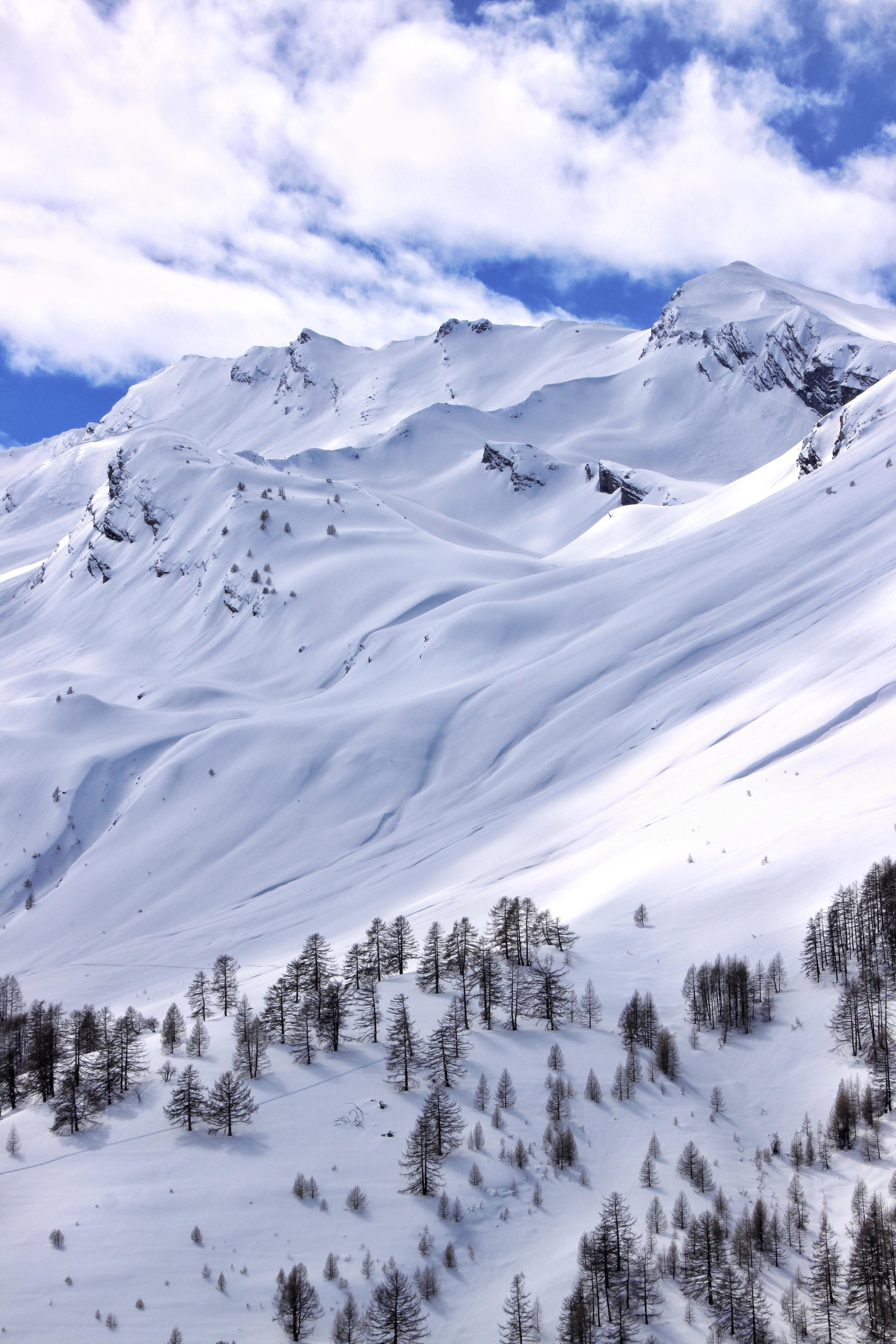 Le Lauzanier en hiver