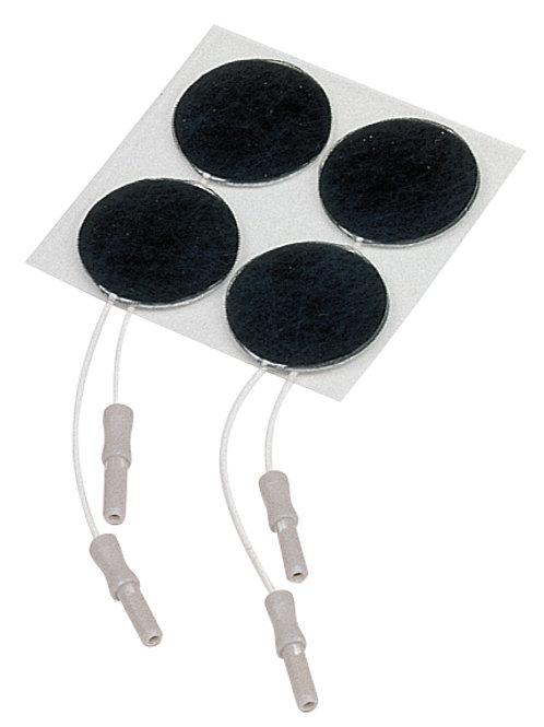 Selvklebende elektroder Ø 3,2cm, 2mm. 10 blad à/4 stk  13444.056