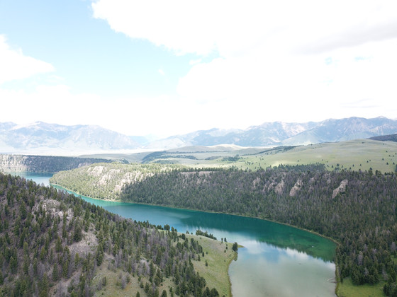 Wade Lake in Montana