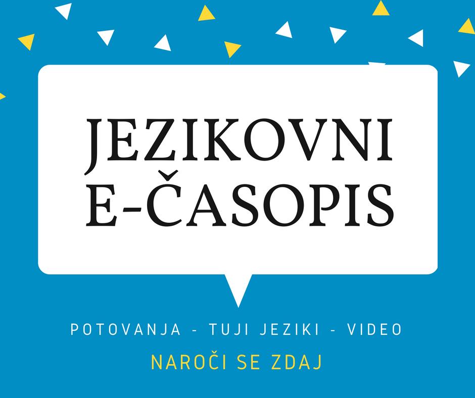 Jezikovni e-časopis