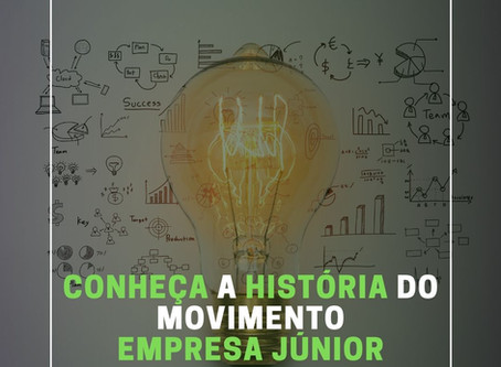 Conheça a história do movimento empresa Júnior
