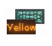 SMD 2835 p10 outdoor yellow LED MODULE_e