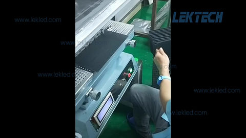 how is a led module produced in a led screen factory