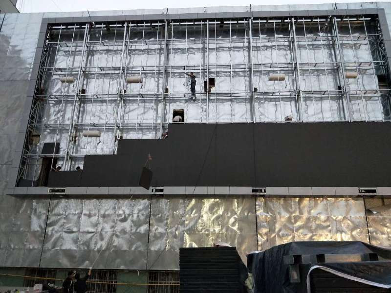 steel structure of outdoor led screen