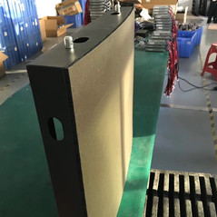 Outdoor curved led screen Cabinet