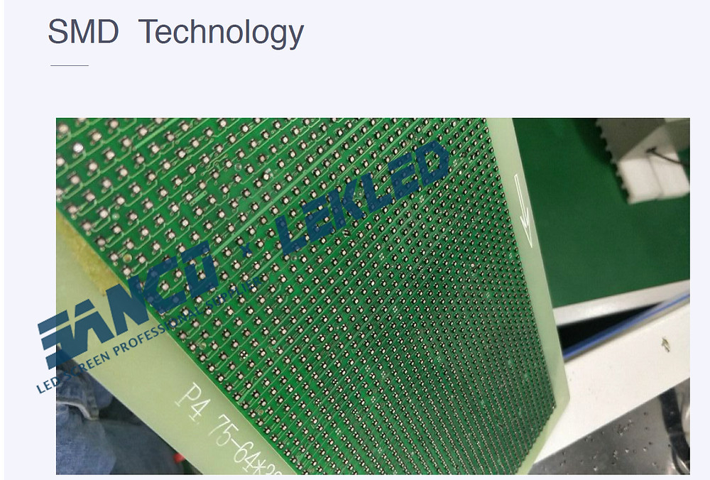 SMD  technology and  SMD LED module