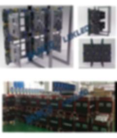 Installation P3.91 SMD2121 Rental led sc