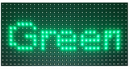 SMD p10 outdoor red ,P10 led module.png