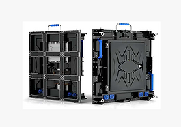 576*576mm Aluminum  Cabinet Rental Led D