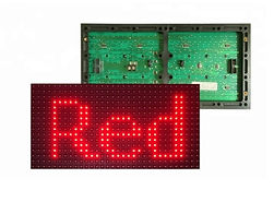 SMD 2835 p10 outdoor RED LED MODULE_edit