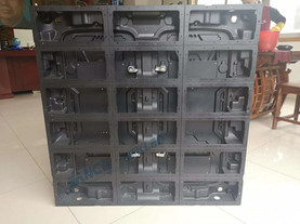 Light weight Aluminum Magnesium Alloy Outdoor LED Screen cabinet