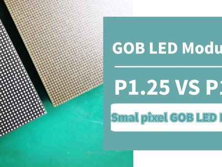 P1.25 VS P1.56 Indoor GOB LED Module Comparison