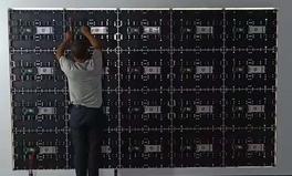 640*480mm indoor rental led screen displ