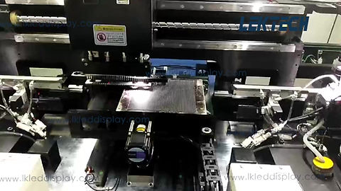 the production of P3 SMD2121 LED Module