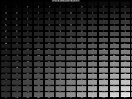 ¿Qué es la escala de grises y el brillo de la pantalla LED? ¿Cuál es la relación entre ellos?