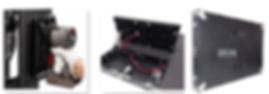 640_480mm HD Aluminium LED Screen Cabine