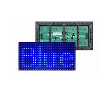 SMD 2835 p10 outdoor blue LED MODULE_edi