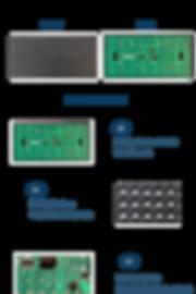 dip p10 led module single white for info