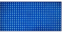 SMD p10 outdoor red single blue color,P1