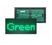 SMD 2835 p10 outdoor green LED MODULE_ed