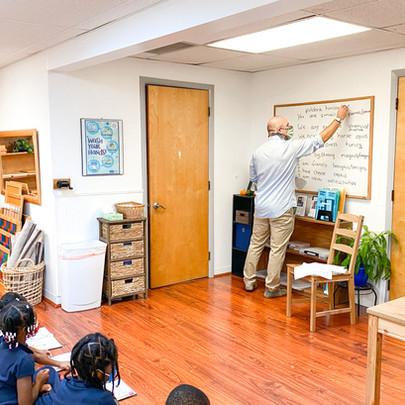 montessori school with latin lesson.JPG