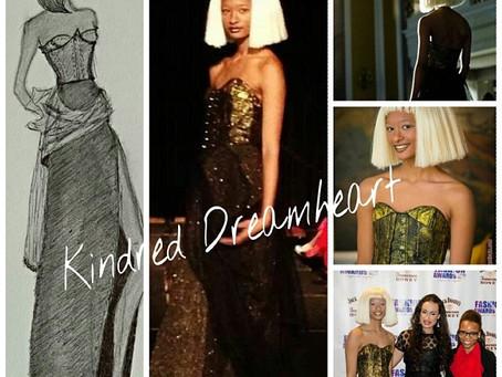 Jack Daniel's Tennessee Honey fashion design contestant