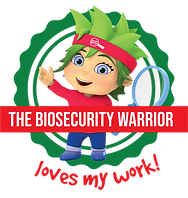 The Biosecurity Warrior loves my work