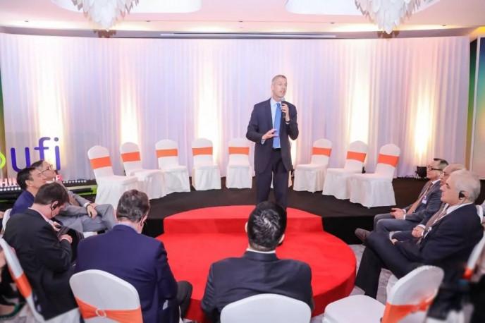 """賀庭凱先生 Mr. Kai Hattendorf 演講主題:""""UFI認證,助力中國會展企業專業化與國際化發展"""""""