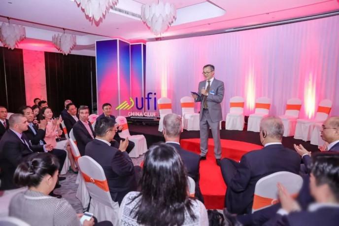 UFI 亞太區主席、UFI China Club發起人上海萬耀企龍展覽有限公司總裁仲剛先生 致辭