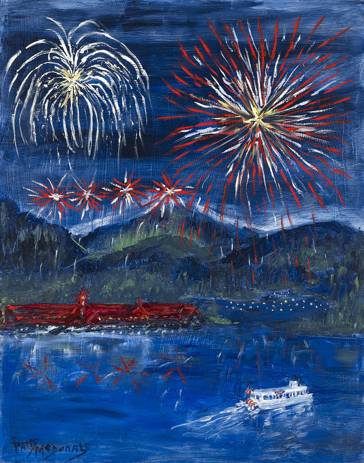4th Of July On Lake Arrowhead