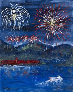 4th Of July On Lake Arrowhead