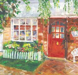 Red Door - Patty's Bay Window