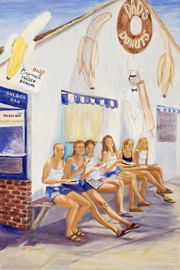 Balboa Island Girls –- Dad's Donuts