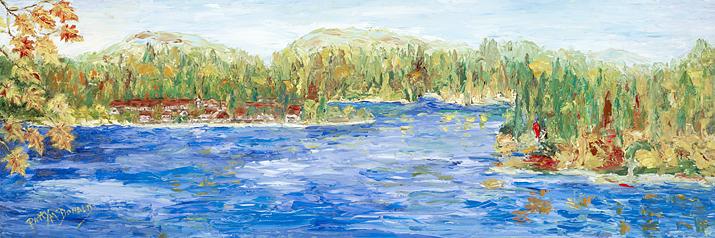Fall at Lake Arrowhead