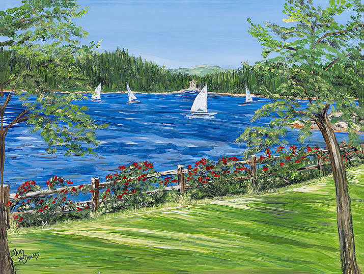 Sailing Lake Arrowhead