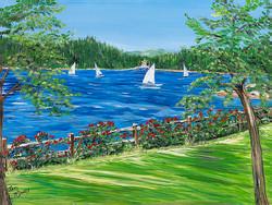Sailing Lake Arrowhead