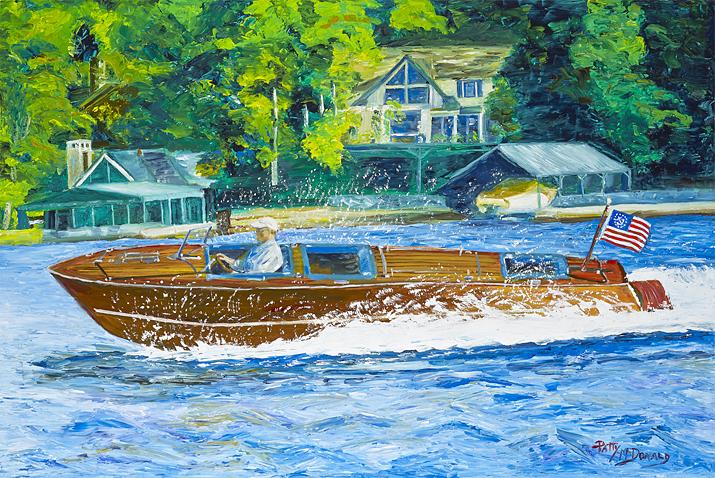 Cruizing The Lake